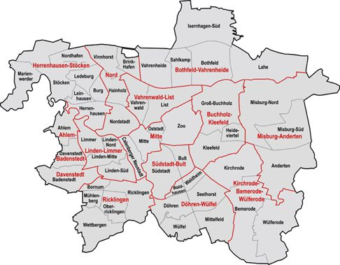Hanover City Distribution Of Flyers In The Districts