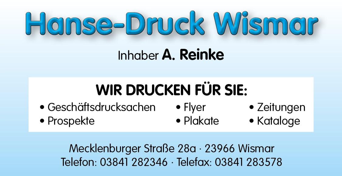 Druckerei Hanse-Druck in Wismar