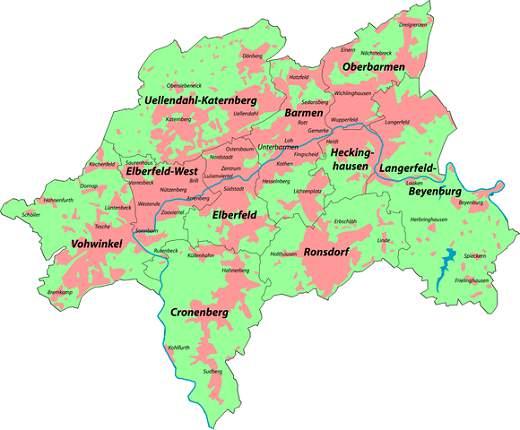 Kiel Stadtteile Stadtplan Und Stadtteile Stadtplan